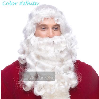 West Bay Sepia Synthetic Santa RX Wig
