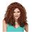 Thumbnail: West Bay Sepia Synthetic Bijou Wig