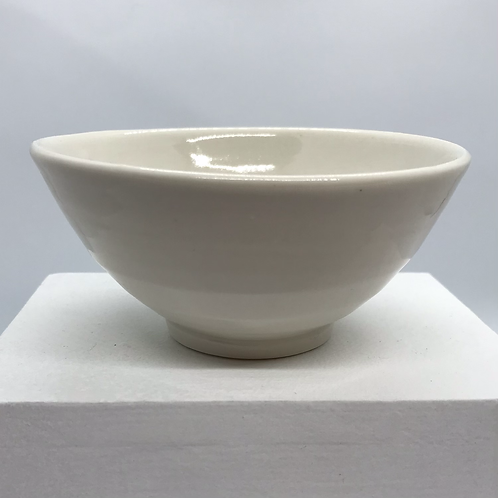 Porcelain Rice Bowl by Roy Chandra