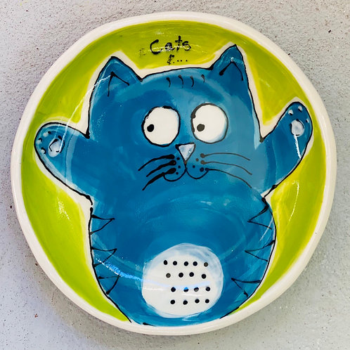 'Otis' stoneware bowl/plate by Kara Pryor