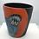 Thumbnail: Budgies on a mug by Kara Pryor (without handle)