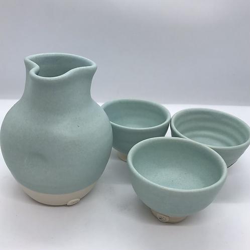 Sake set by Katherine Mahoney