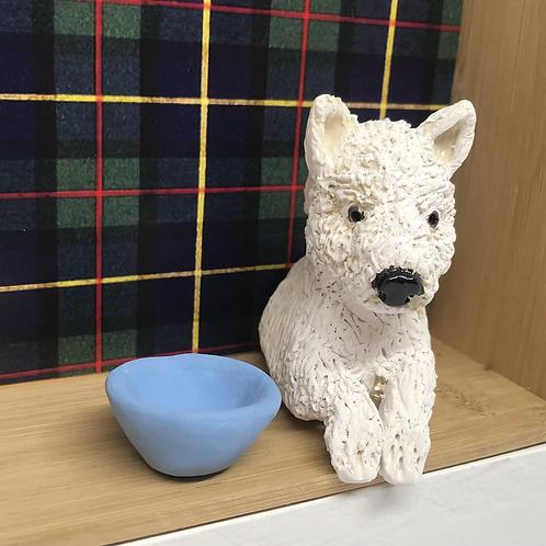 'Eddie the Westie' Dog House by Sarah Robertson