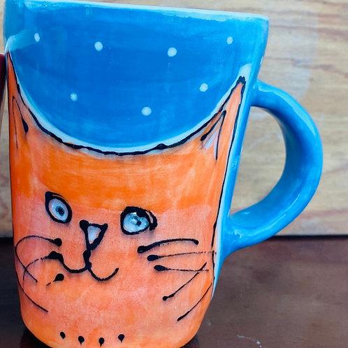 Cats on a Mug by Kara Pryor