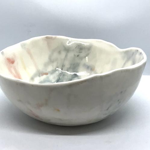'Colour my World' medium bowl by Caroline Wright.