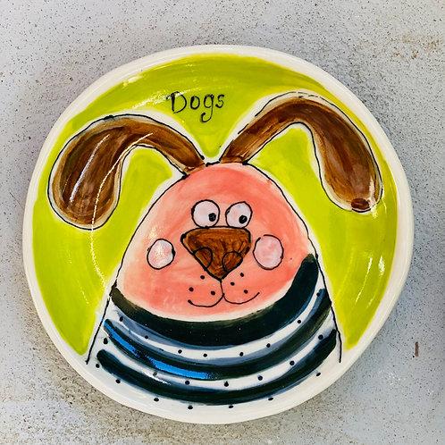 """""""Milo"""" Stoneware bowl/plate by Kara Pryor"""