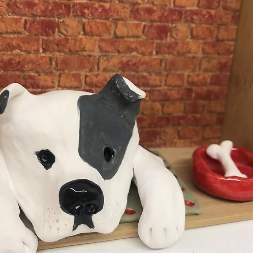 'Betty the Bitsa' Dog House by Sarah Robertson