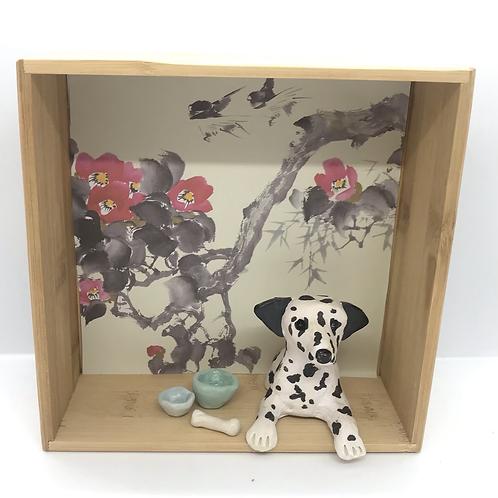 'Doris the Dalmatian' Dog House by Sarah Robertson
