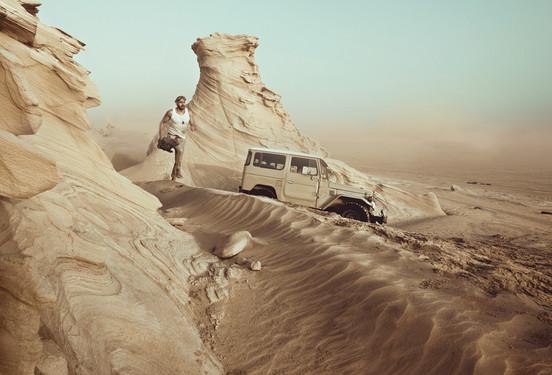 Adventure into the Arabian desert