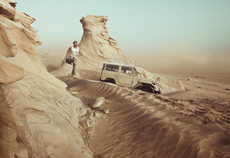 Lost in Dunes