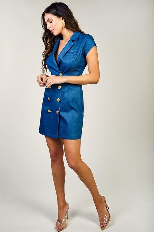 Trail Blazer  Denim Dress