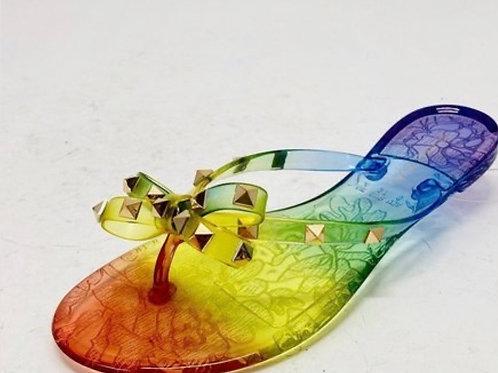 Rainbow Stud Flats