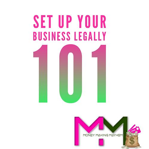 STARTING A BUSINESS 101 CHECKLIST