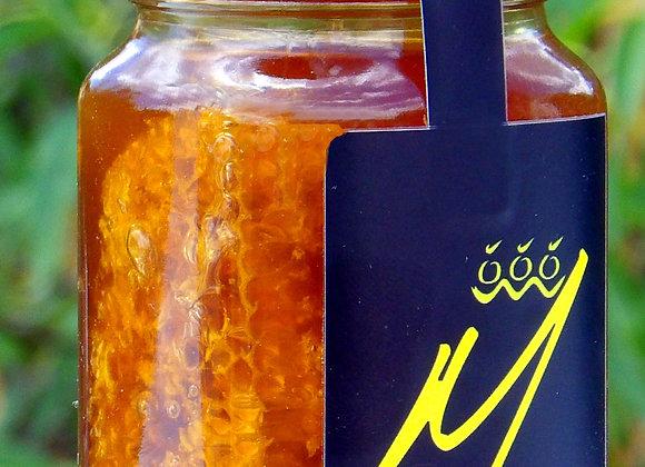 Μέλι από Αρωματικά Άνθη με Κηρήθρα 800 ή 400 γργρ