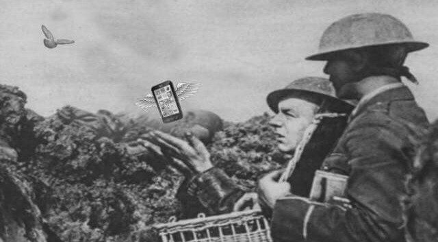 NERO LEVRINI - From the pigeoneons in 1918 to the smartphon in the 2018