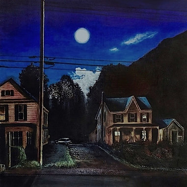 Moon Over Main Street