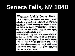 1848newspaper article re Seneca Falls co