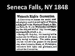 1848newspaper article re Seneca Falls co