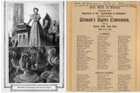 Elizabeth Cady and Seneca Falls Conventi