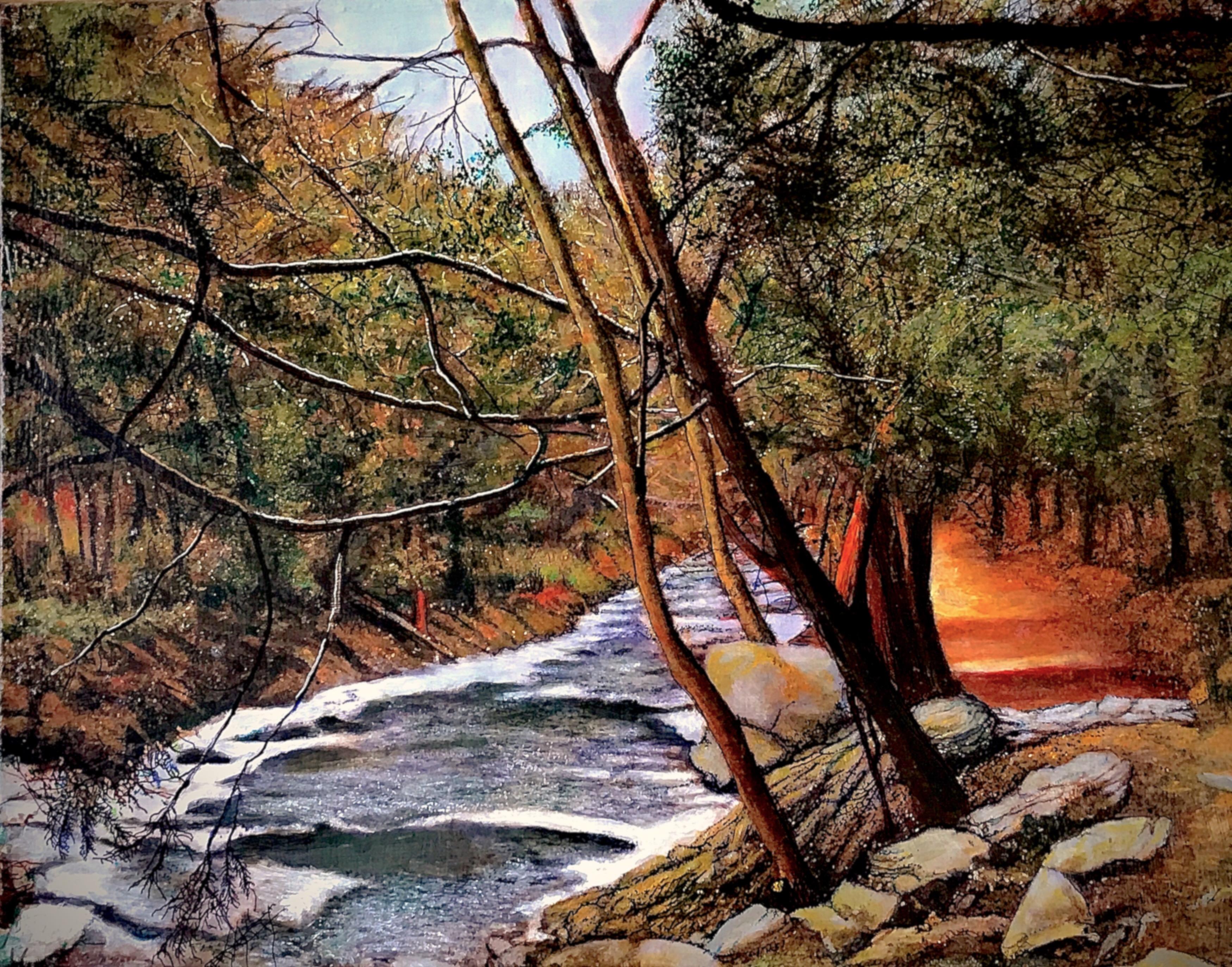 The Bash Bish River