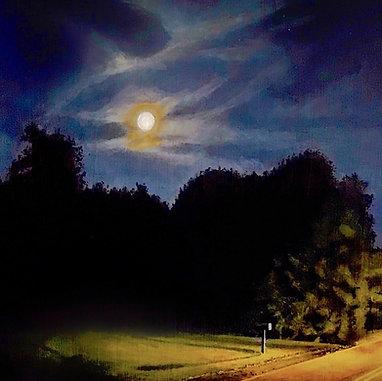 Full Moon Mailbox