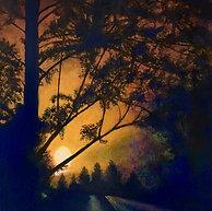 Street Lght Sunset