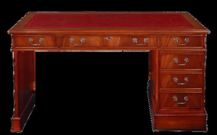 ملحق مكتب مع لوحة مفاتيح : يسار - أحمر