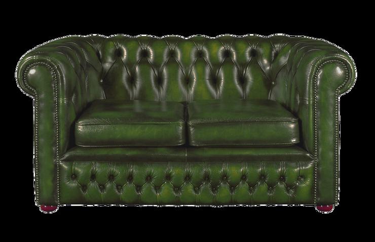 كنبة مقعدين بورنلي أخضر- SF3702G copy c