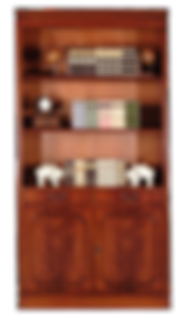 مجموعة خزانة مكتبية نصف مفتوحة (102×38.5