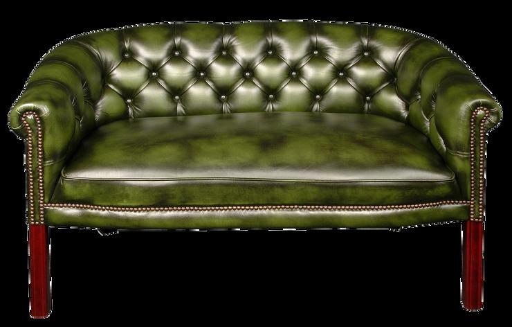 كنبة بمقعدين فكتوريان  اخضر - VSF4702G.p