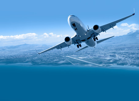 Producing renewable aviation fuel from water