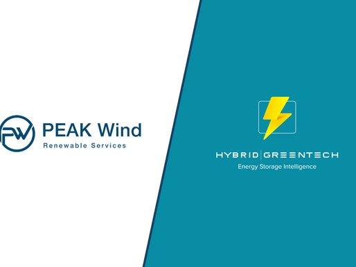 Hybrid Greentech and PEAK Wind form partnership to offer intelligent hybrid power plant solutions