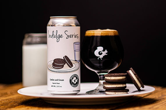 INDULGE SERIES: COOKIES AND CREAM