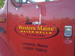 Western Maine Water Wells