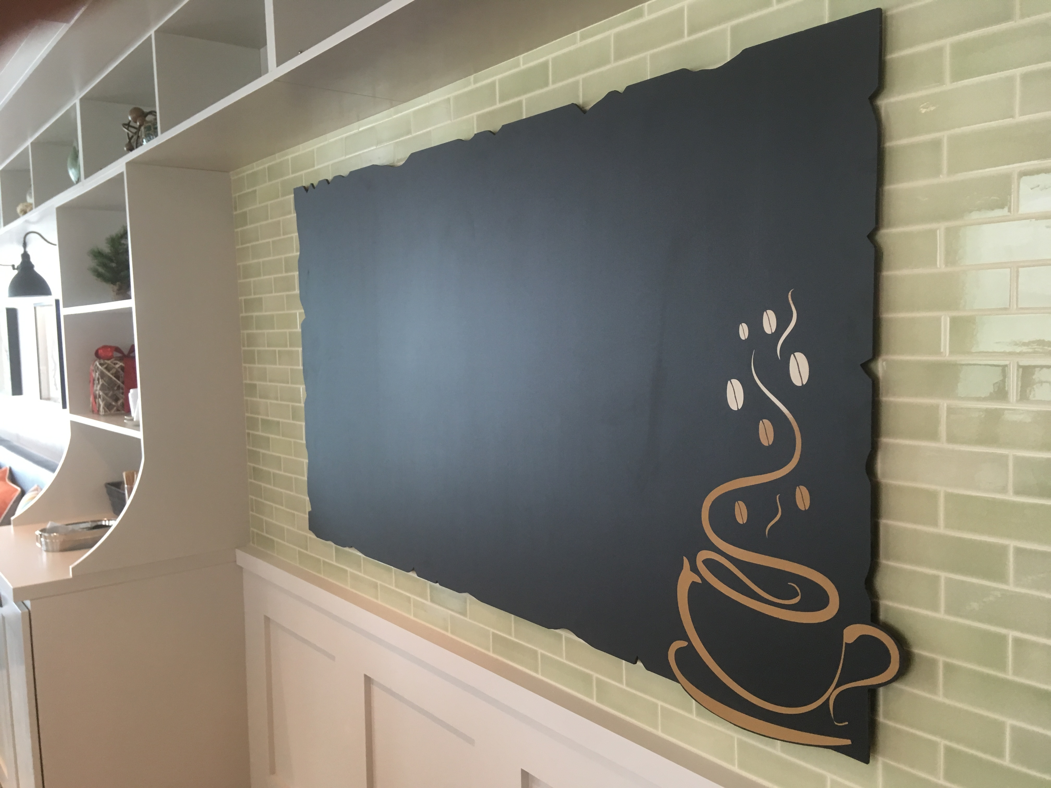 Chalkboard Wall