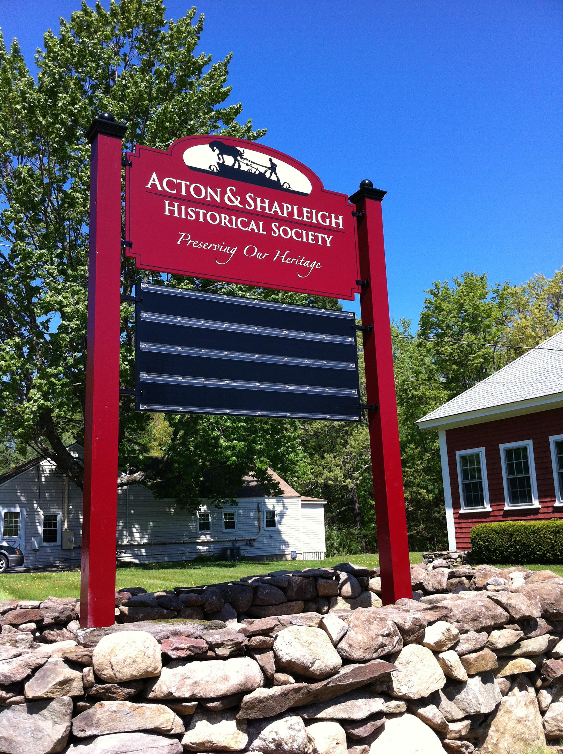 Acton Shapleigh Society