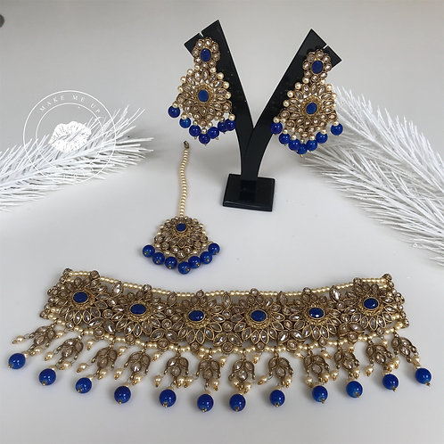 Dil To Pagal Hai - Royal Blue