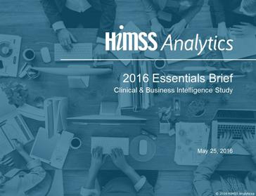 HIMSS Analytics publica estudo sobre BI
