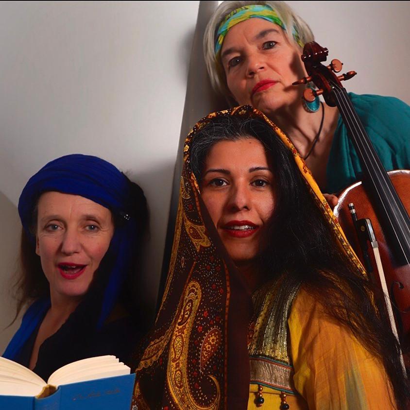 Sanaz, Mona Creutzer, Johanna Schmidt & Silvia Engels
