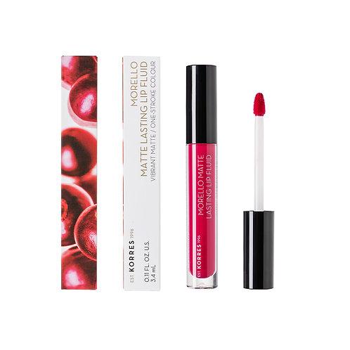MORELLO Matte Lasting Lip Fluid 29 Strawberry Kiss