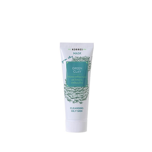 Green Clay Cleansing Oily Skin - GREEN CLAYΜάσκα για Βαθύ Καθαρισμό