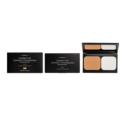 ACTIVATED CHARCOAL Corrective Compact Foundation ACCF3