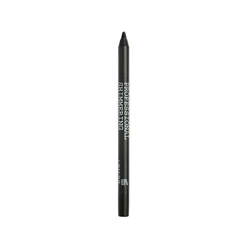 BLACK VOLCANIC MINERALS Professional Shimmering Eyeliner - 01 Black