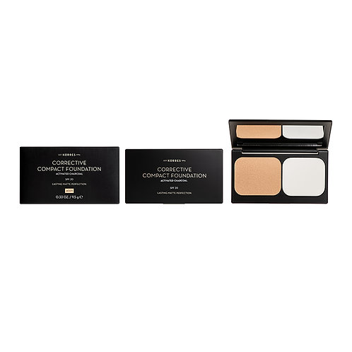 ACTIVATED CHARCOAL Corrective Compact Foundation ACCF1