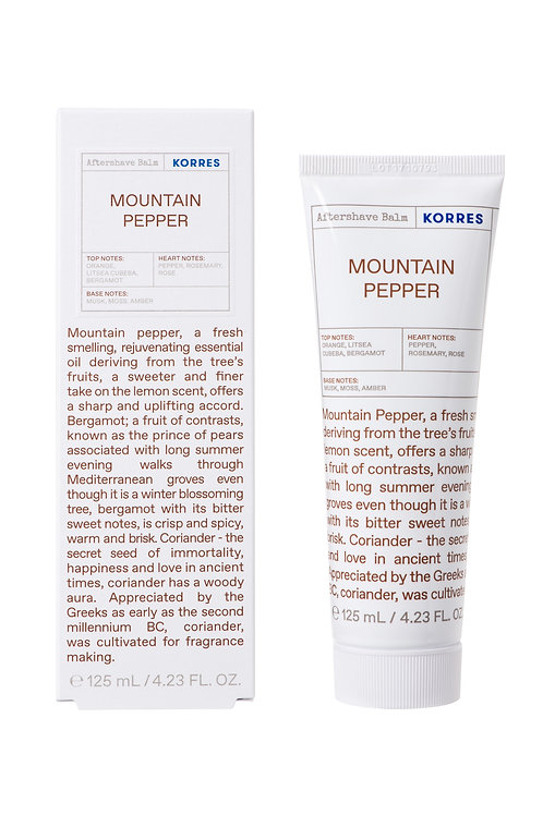 AFTERSHAVE BALM Mountain Pepper
