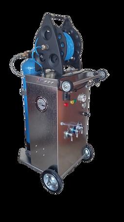 Aquamak Dış Cephe Temizlik İyonSil-DI Makinası