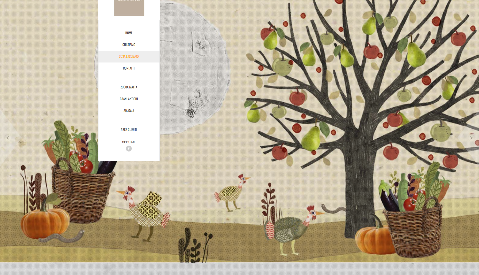 terre vive web site artwork
