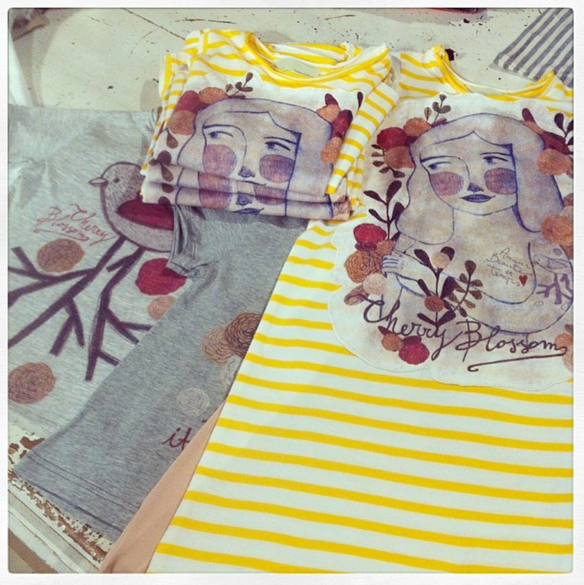 Cotton Garden t-shirt Capsule Collection