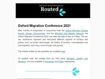 Newsletter 23/05/2021
