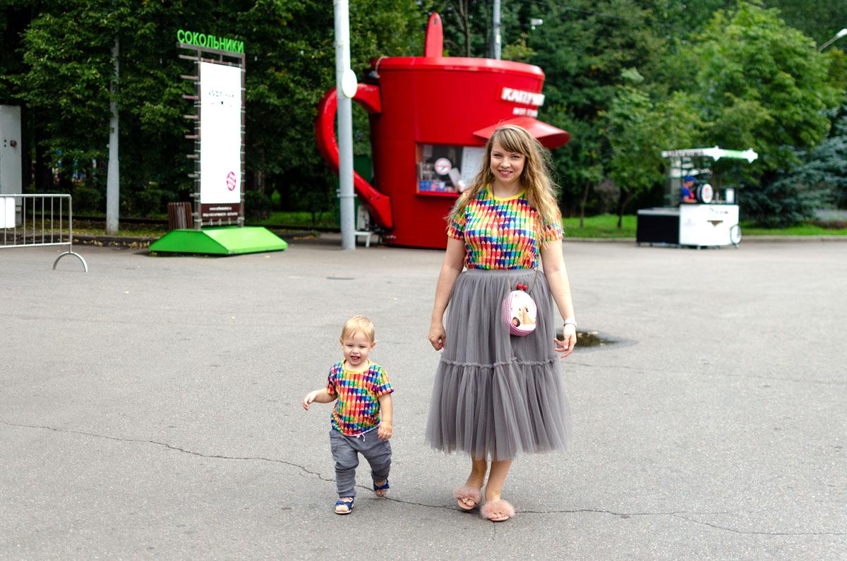Семейная фотосессия в парке Сокольники